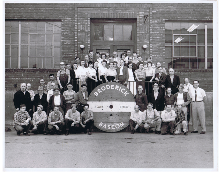 Seattle Employees broderick and bascom rope co